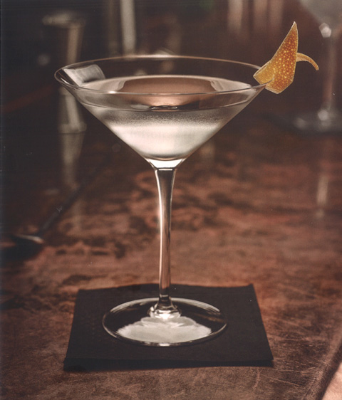 Perfect Ten Dry Martini